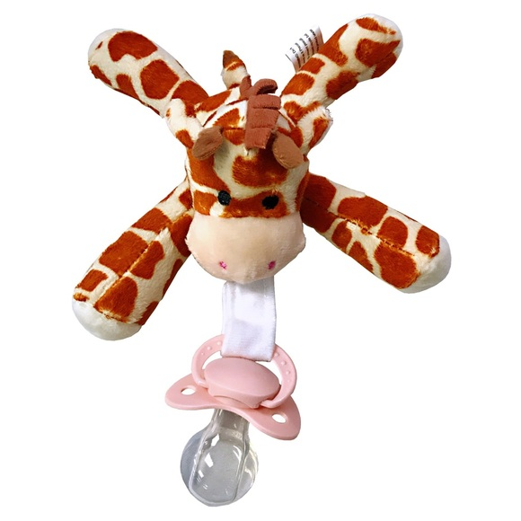 Adult Pacifier with giraffe plush toy ABDL DDLG Boutique